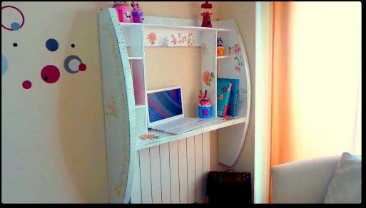 diy cardboard desk