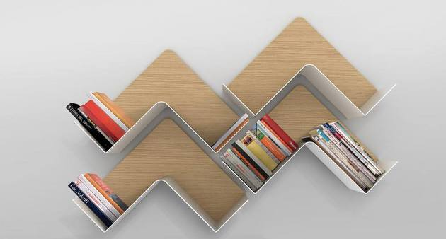 Creative Adaptable Shelving system - Fishbone3