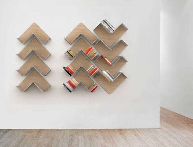 Creative Adaptable Shelving system - Fishbone4