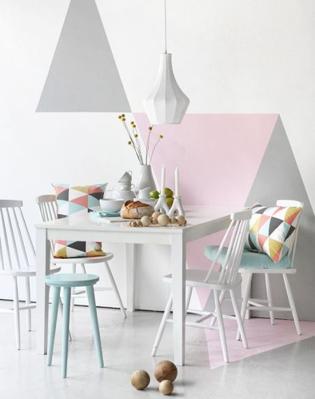 Decorations in pastel shades1