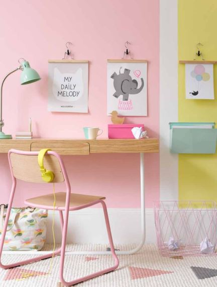 Decorations in pastel shades2
