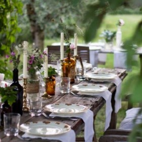 Decor for special summer dinners1