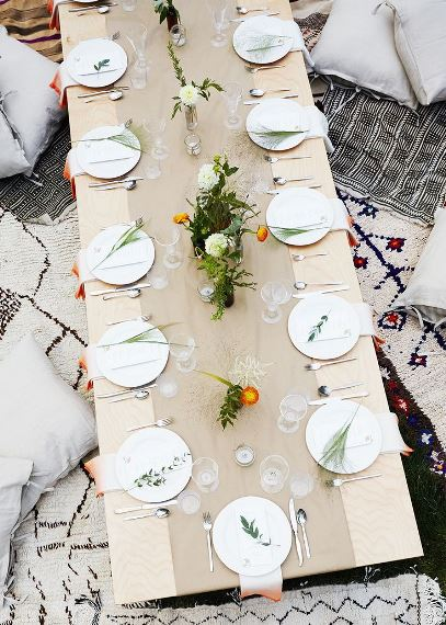 Decor for special summer dinners4