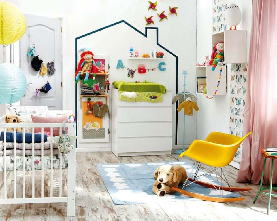 Colorful children's bedrooms12