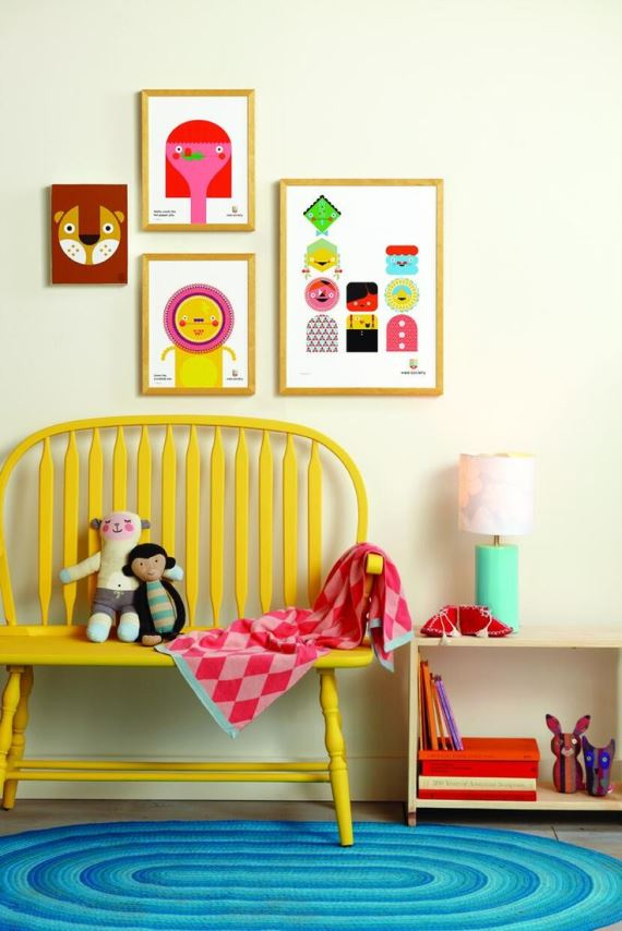 Colorful children's bedrooms13