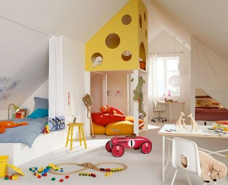Colorful children's bedrooms5