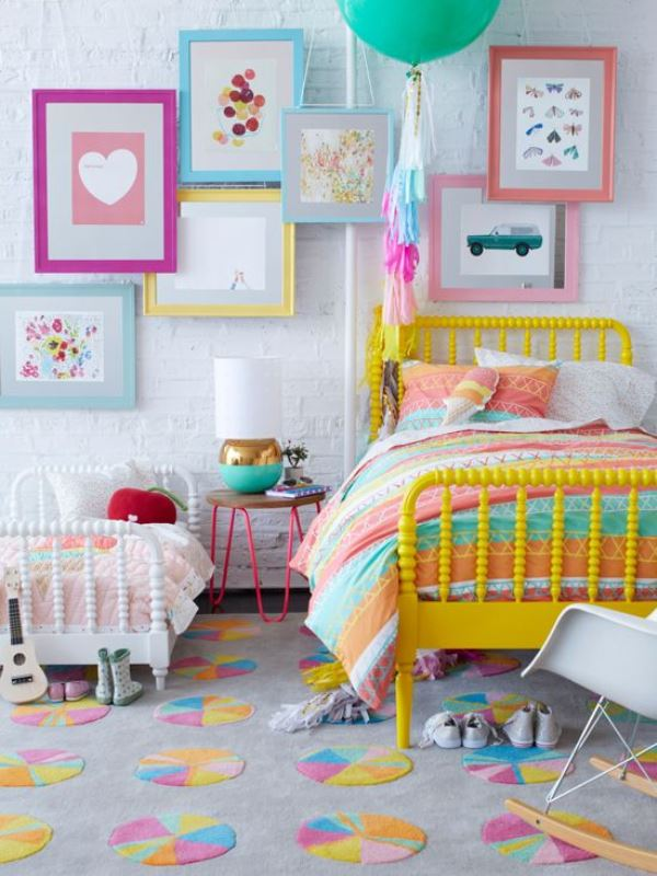 Colorful children's bedrooms6