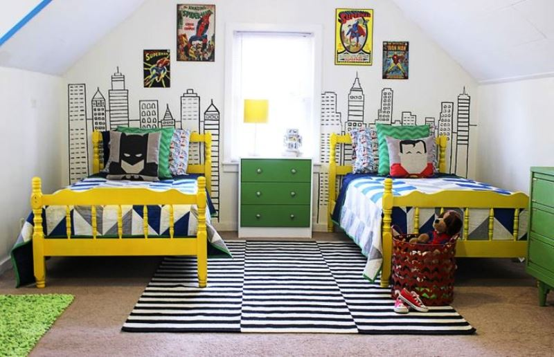 Colorful children's bedrooms8