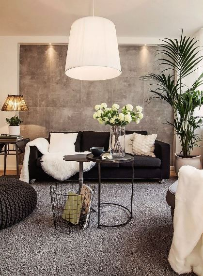 chic decor loves the shades of gray5