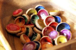 decorative autumn crafts with acorns11