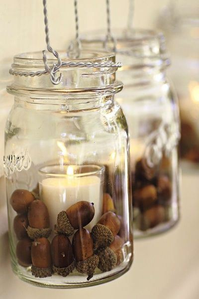 decorative autumn crafts with acorns3