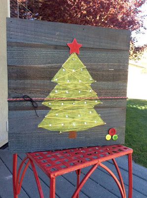 CHRISTMAS IDEAS with PALLETS8