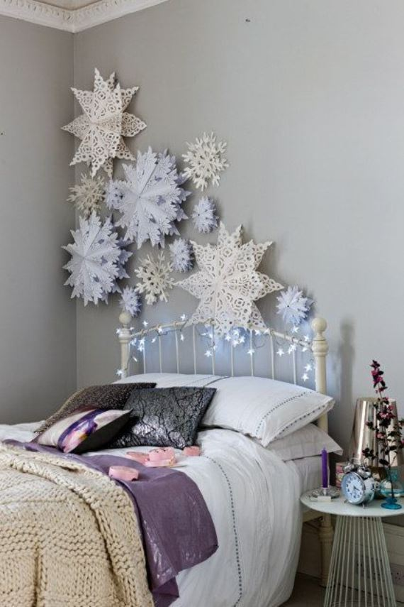 Christmas atmosphere in the children's room1