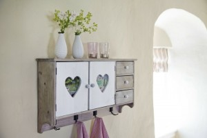 Shabby Chic, retro and industrial styles10