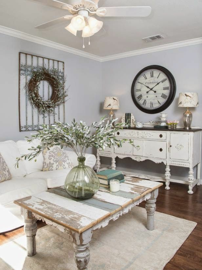 Shabby Chic, retro and industrial styles13