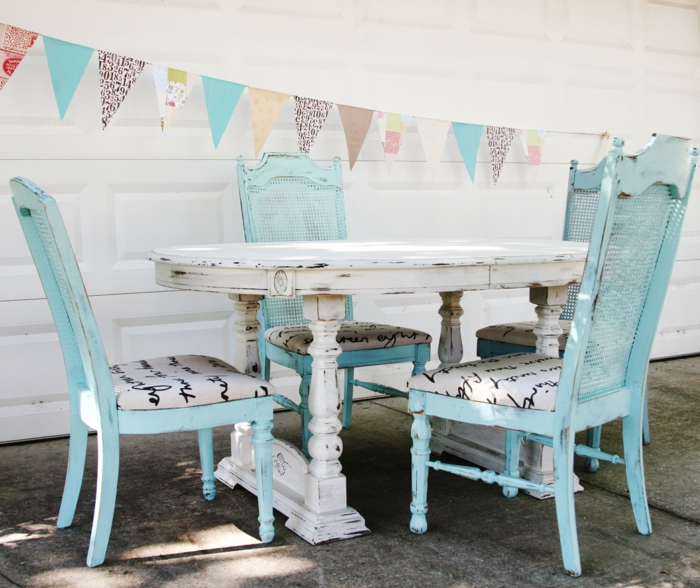 Shabby Chic, retro and industrial styles22