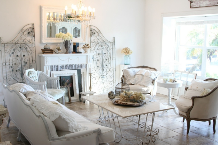 Shabby Chic, retro and industrial styles4