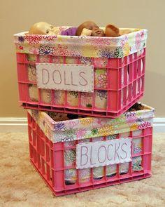 crafts with plastic crates11
