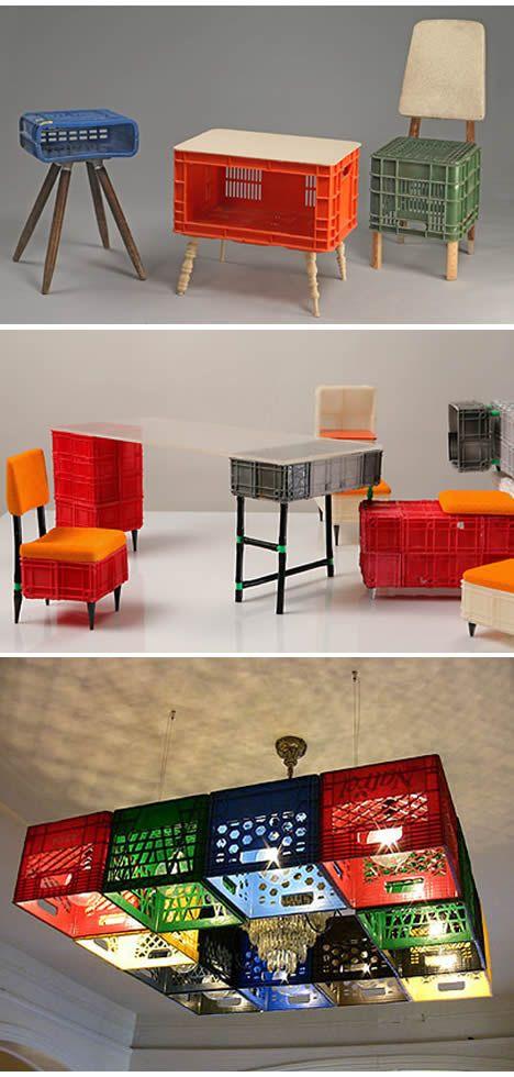 crafts with plastic crates12