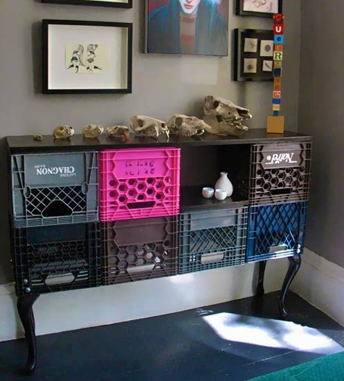 crafts with plastic crates6