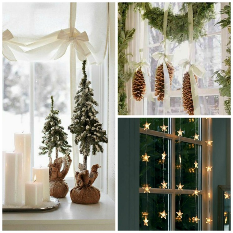 Christmas Decorations For Home Windows: Christmas Atmosphere In A Fairy Tale House