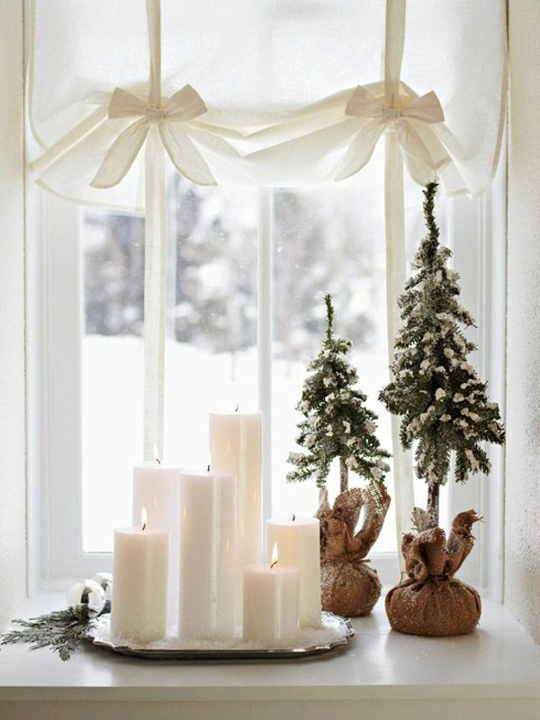 Window decorations for Christmas1