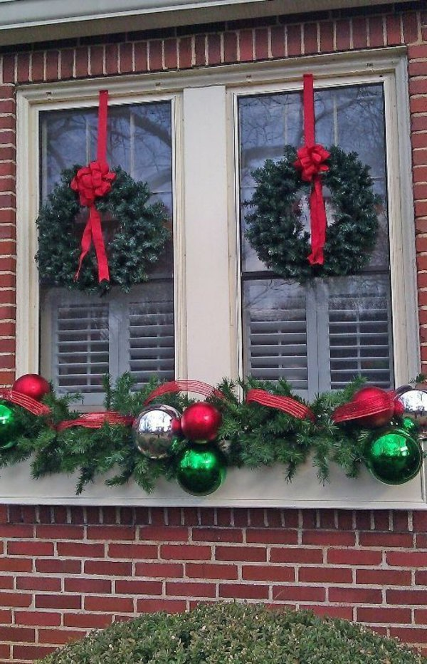 Window decorations for Christmas12
