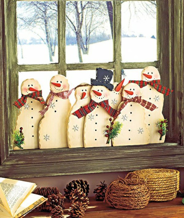 Window decorations for Christmas15