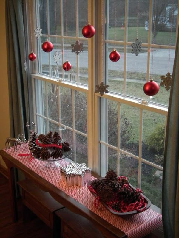 Window decorations for Christmas17