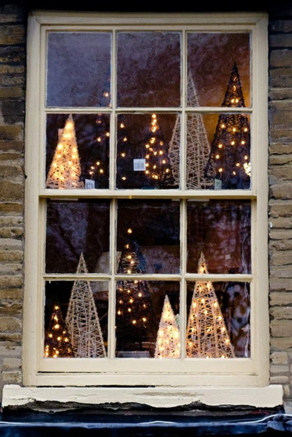 Window decorations for Christmas5