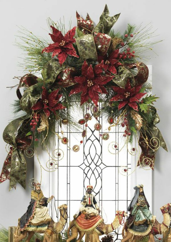 Window decorations for Christmas7