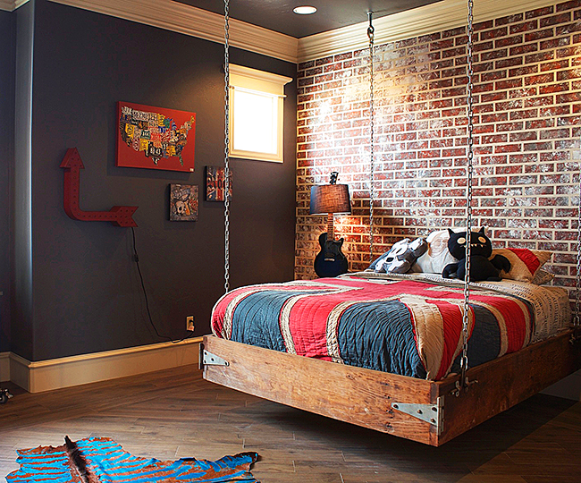 Hanging bed ideas11