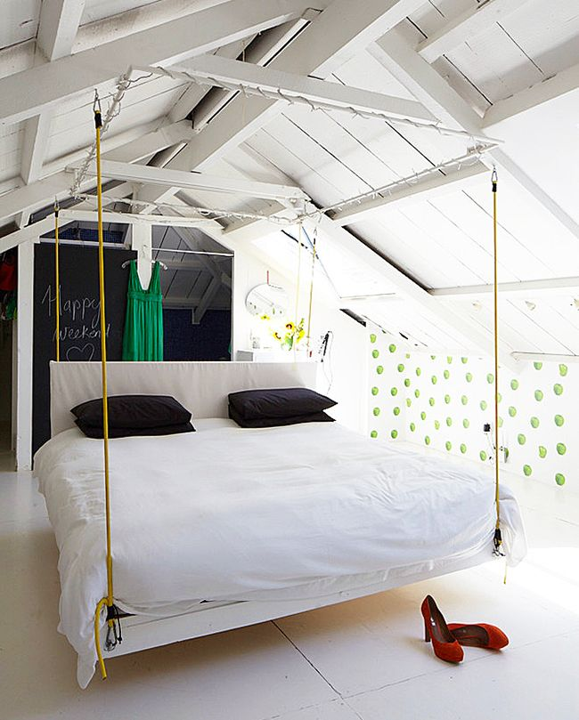 Hanging bed ideas2
