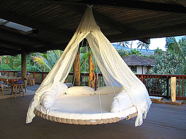 Hanging bed ideas5