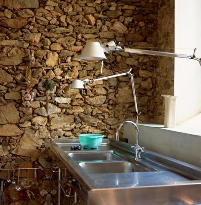 57 exposed stone wall ideas for a modern interior my - Mur en pierre apparente interieur ...