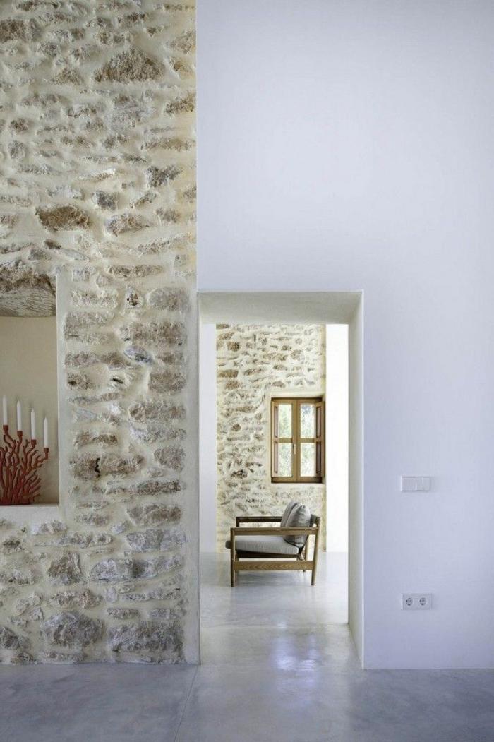 Exposed stone wall ideas15