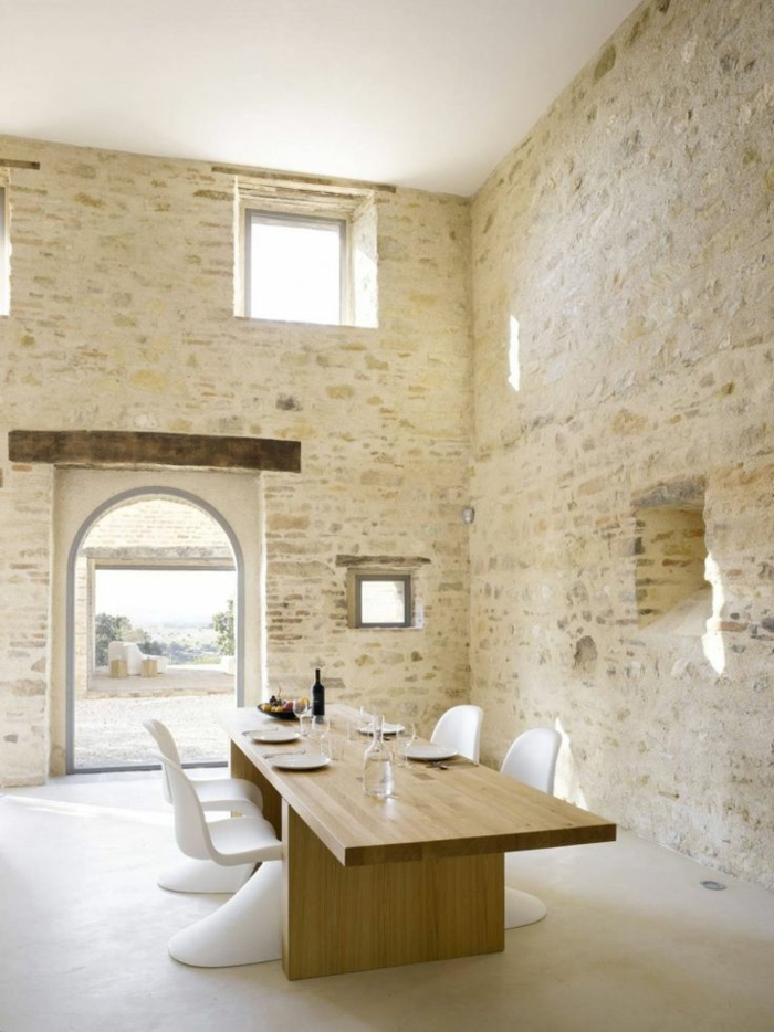Exposed stone wall ideas21