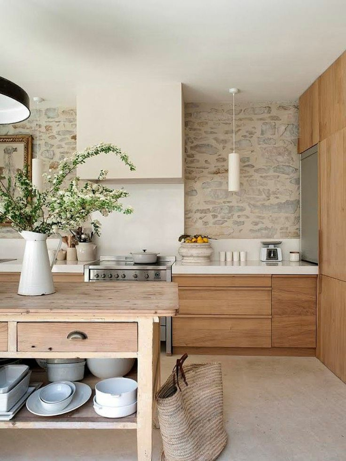 Exposed stone wall ideas5