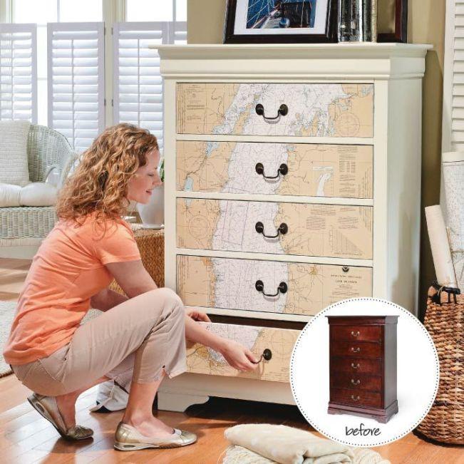 Furniture Decoupage ideas1