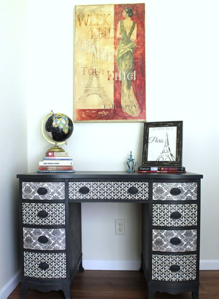 Furniture Decoupage ideas18