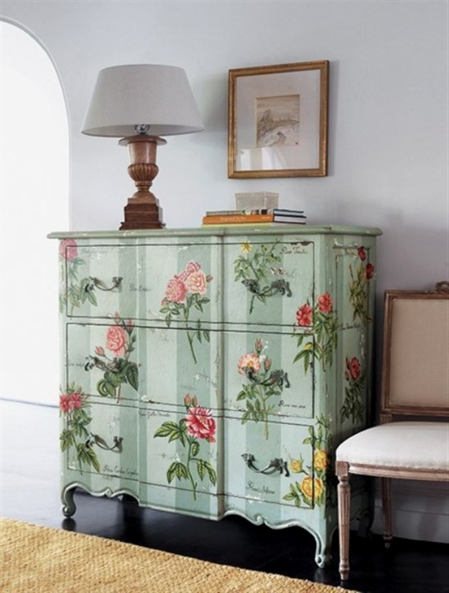 Furniture Decoupage Ideas20