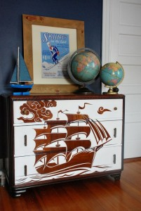 Furniture Decoupage ideas21