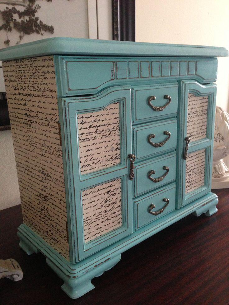 Furniture Decoupage ideas24