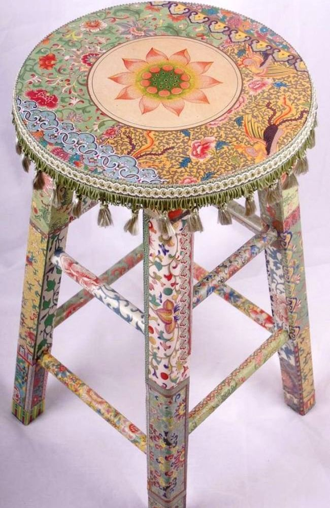 Furniture Decoupage ideas25