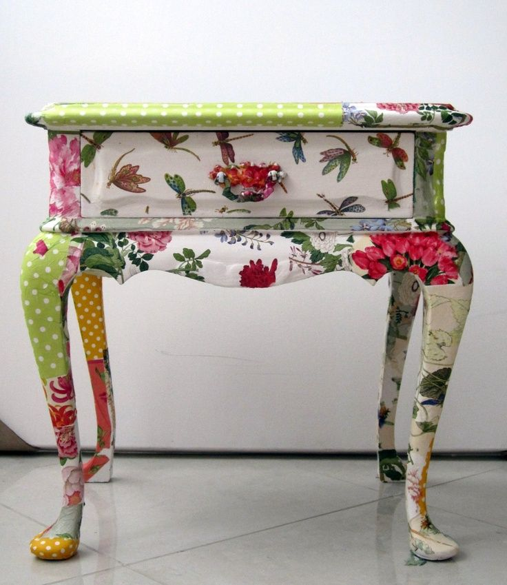 Furniture Decoupage ideas26