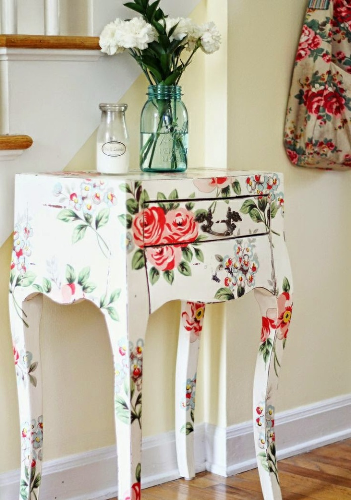 Furniture Decoupage ideas27