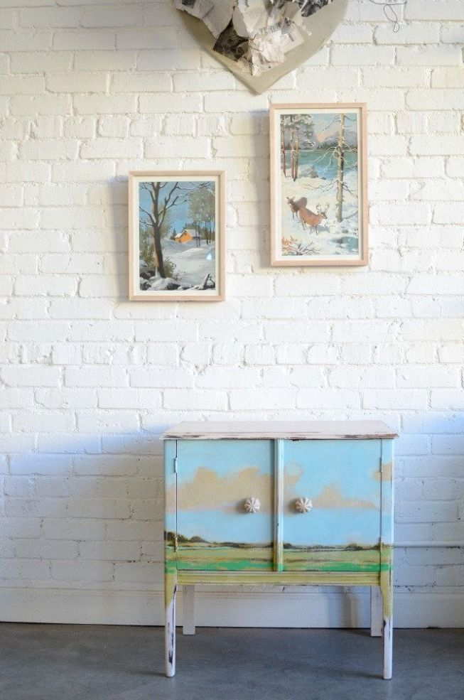 Furniture Decoupage ideas33