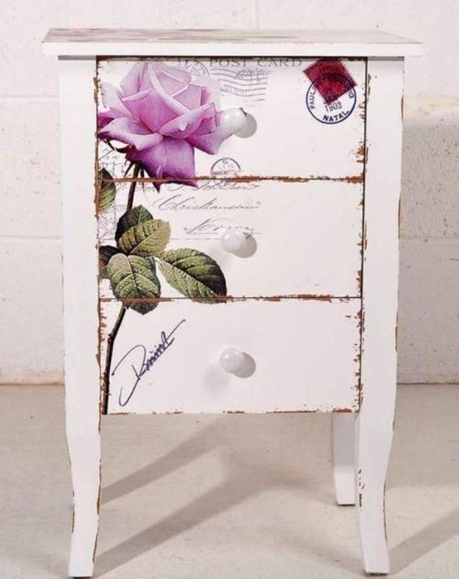 Furniture Decoupage ideas34