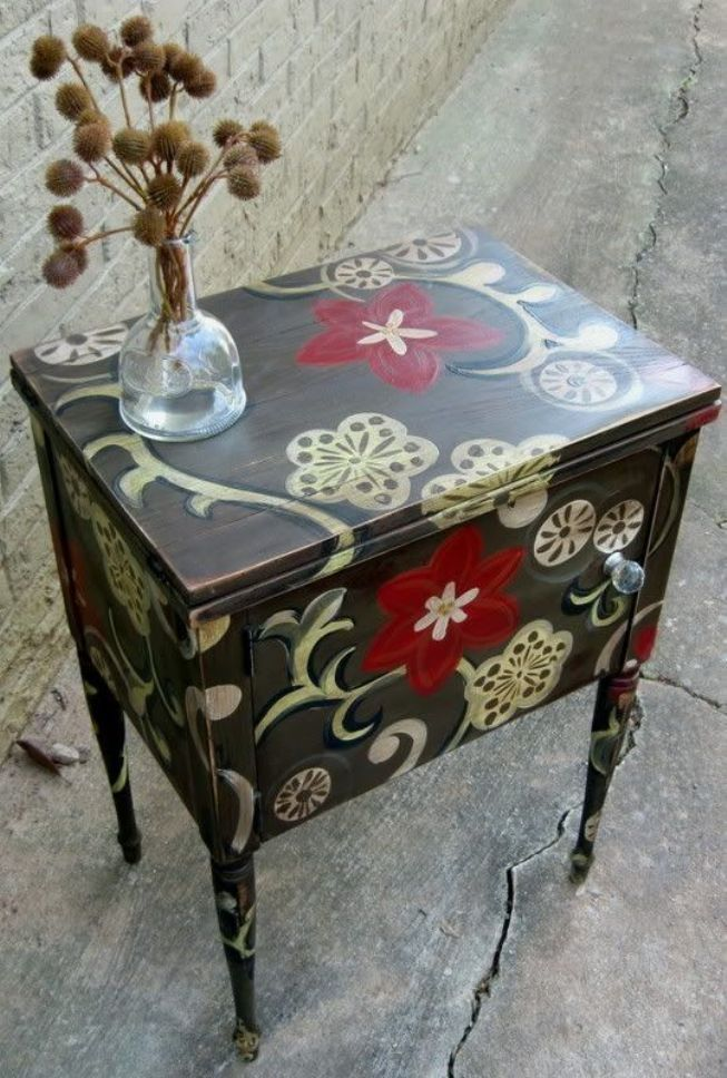 Furniture Decoupage ideas37