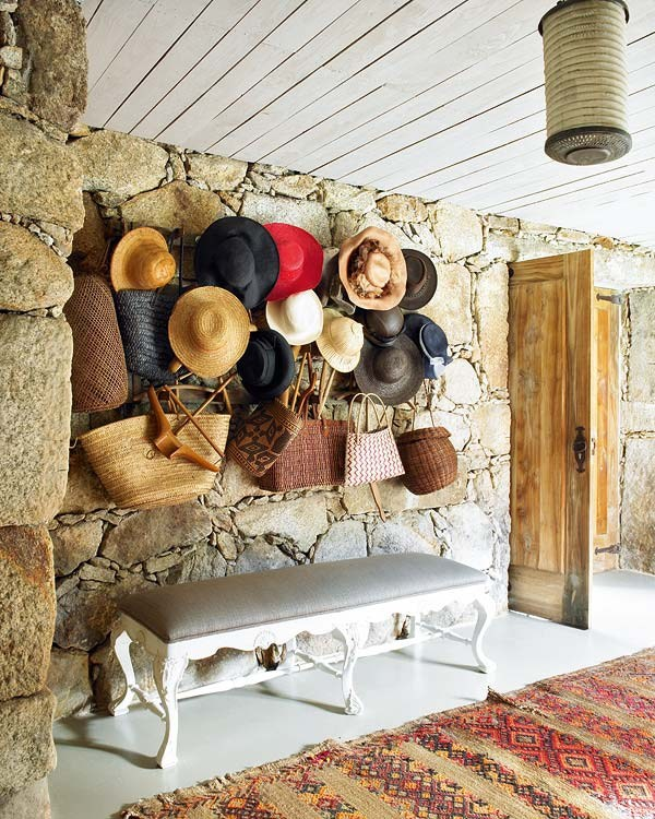 Stone house in a Bohemian Chic style1